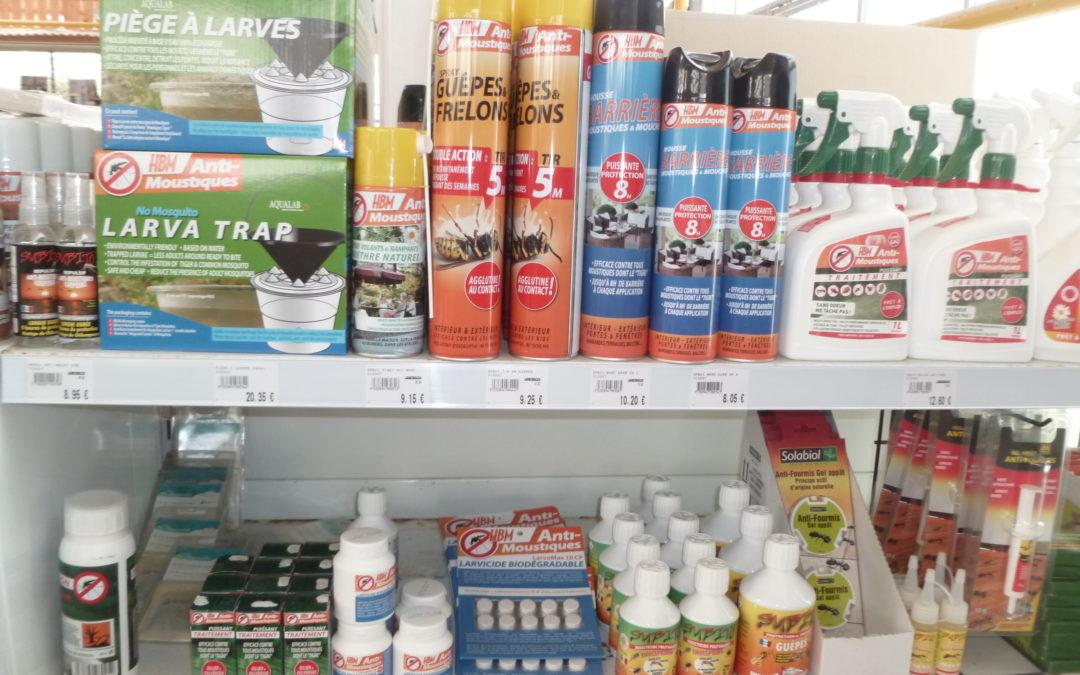 Anti-moustiques / mouches / guêpes
