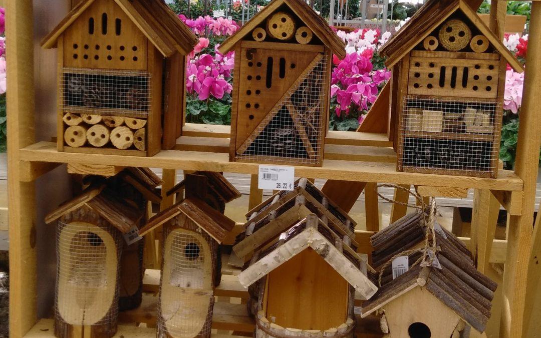 L'hôtel à insectes: l'incontournable de la saison